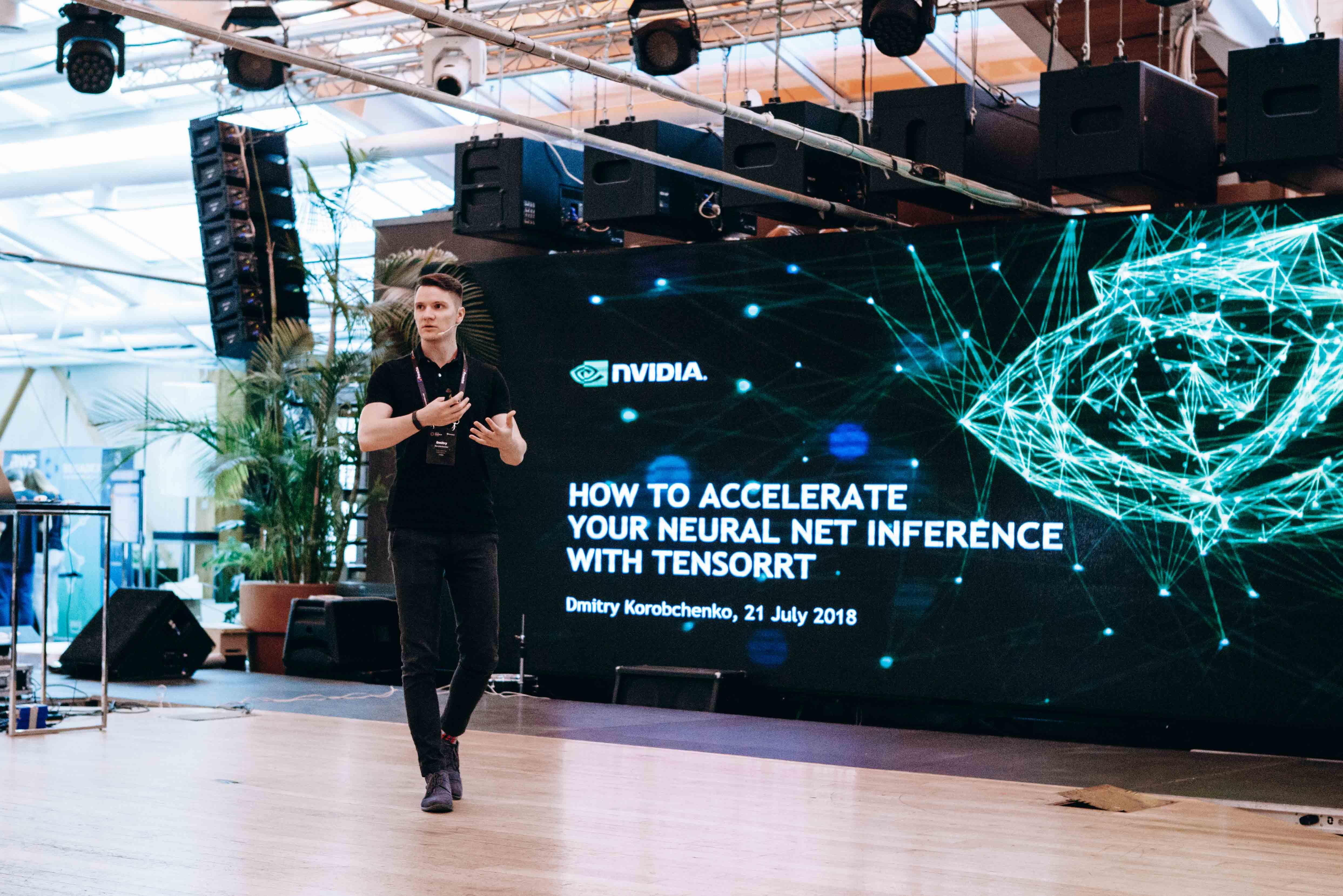 Nvidia speaker at Data Summer conf